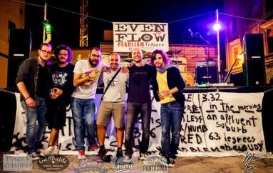 Sul palco con gli Even Flow, aspettando il jazz