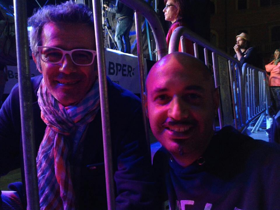 Paolo Fresu con Fabio Iuliano