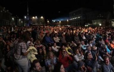 Un fiume di gente per #jazz4laquila e la città rinasce anche così