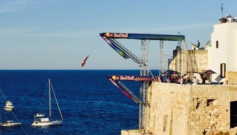 #Redbullcliffdiving Hunt vince la tappa italiana