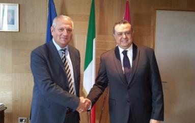 Cooperazione tra Israele e l'Abruzzo per l'utilizzo del territorio