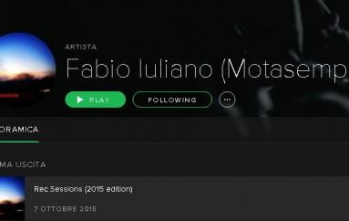 Motasemper, l'Ep anche su iTunes e Spotify