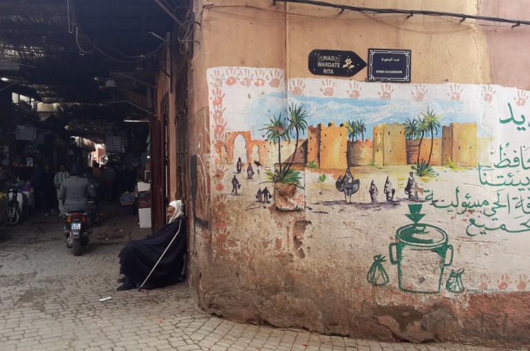Nel labirinto della medina di Marrakech