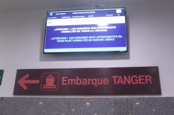 Marrakech express: il porto di Tanger