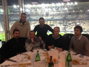 I vincitori di Better Champions nella sala vip dello Juventus Stadium