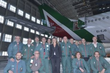 Mirna, la dottoressa degli aerei Alitalia