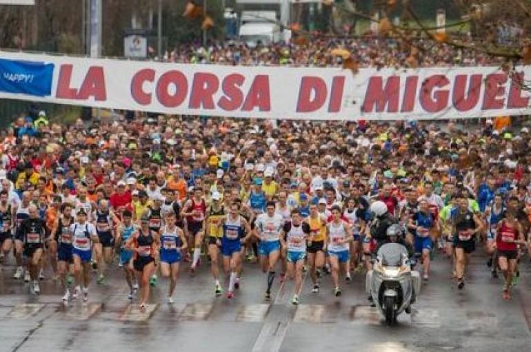 Corsa di Miguel, l'abbraccio dell'Olimpico completa la festa