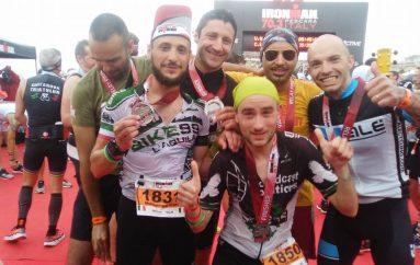 Ironman 70.3, tanti aquilani a Pescara