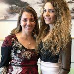 Daniela Aiuto con miss Abruzzo