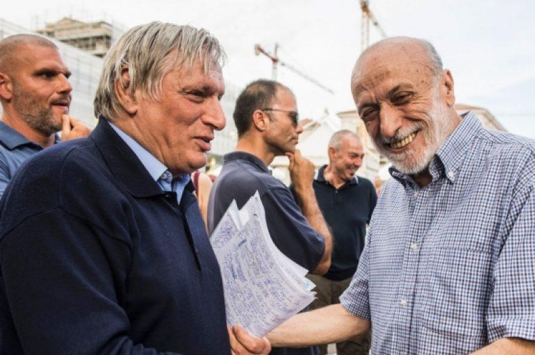 """Don Ciotti all'Aquila: """"Solidarietà e stop alle violenze"""""""
