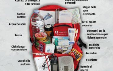 Terremoto: uno zaino per l'emergenza