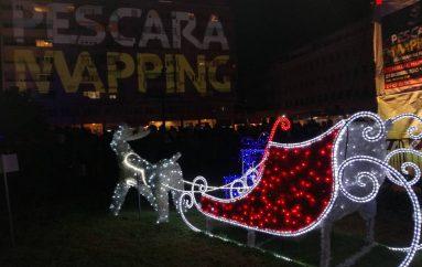 Pescara mapping, realtà aumentata al tempo del Natale