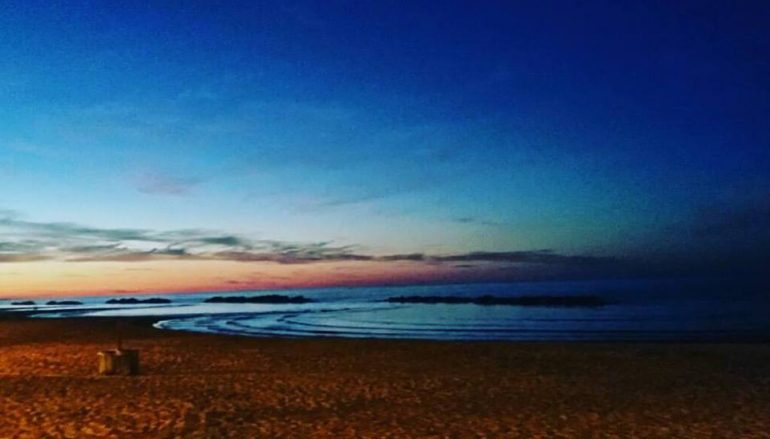 Pescara, 5i50… out of the water
