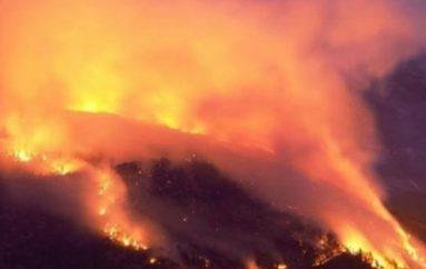 Incendio sul Morrone, l'appello di una giovane