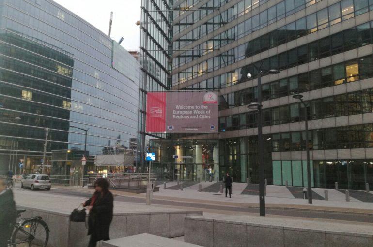 A Bruxelles per la Settimana europea delle regioni 2017