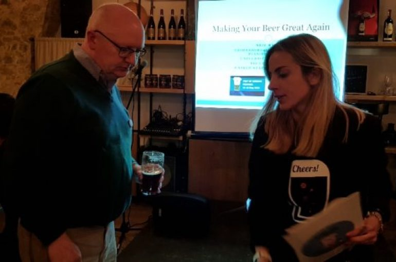Pint of science, a scuola col beer professor