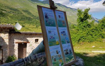 """""""Raccontami l'Abruzzo"""" al giardino letterario della Jenca"""