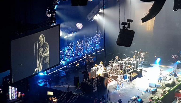 I Pearl Jam e le onde di Barcellona