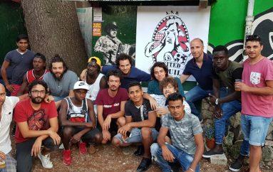 L'Aquila United, il calcio senza confini
