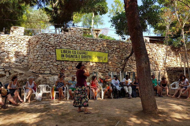 Lampedusa, Amnesty Summer Lab