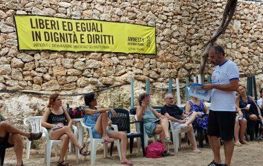 Lampedusa, disegni dalla frontiera di Piobbichi