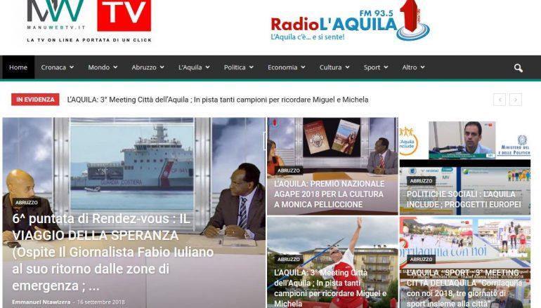 Lampedusa e Catania, l'intervista su Manuwebtv