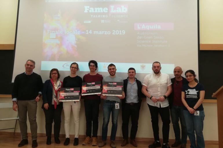 Famelab, all'Aquila il talent della scienza