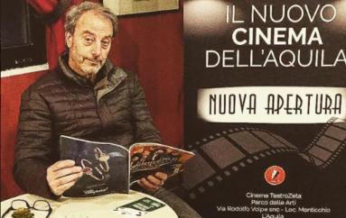 L'Aquila, Turco presenta il CinemaZeta
