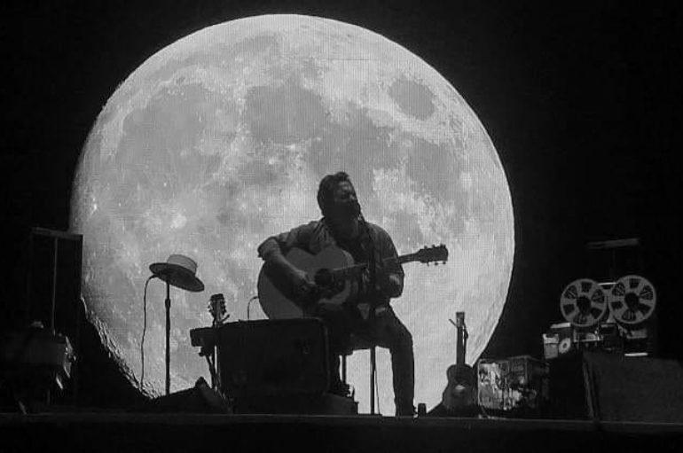 Il Moonstage di Eddie Vedder a Firenze Rocks