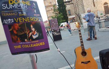 Festa della musica, The Colleagues live a Teramo