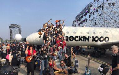 Rockin'1000, il videoracconto dall'aeroporto di Linate