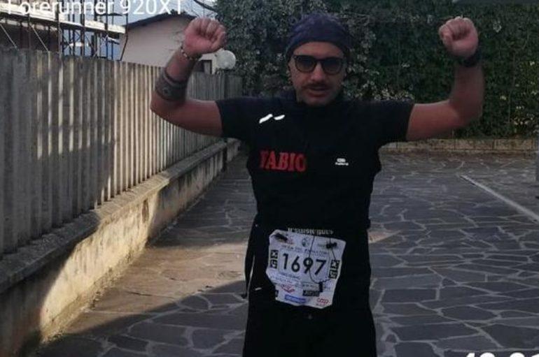 Niente maratona di Roma? La corro nel cortile di casa