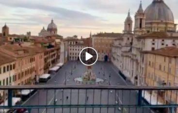 Deborah's Theme sui tetti di Roma