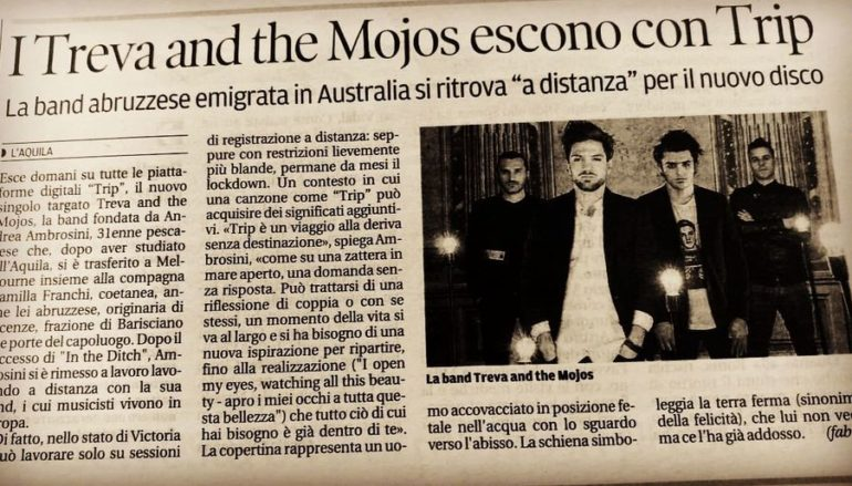 "Treva and the Mojos, dall'Australia ecco ""Trip"""