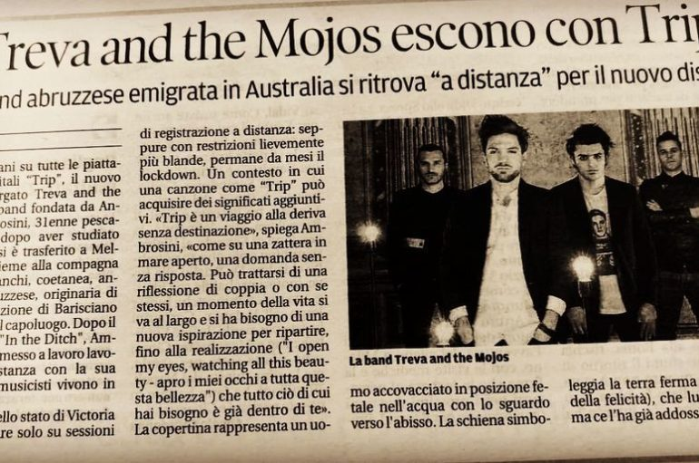 "Treva and the Mojos, dall'Australia ecco ""Trip"""