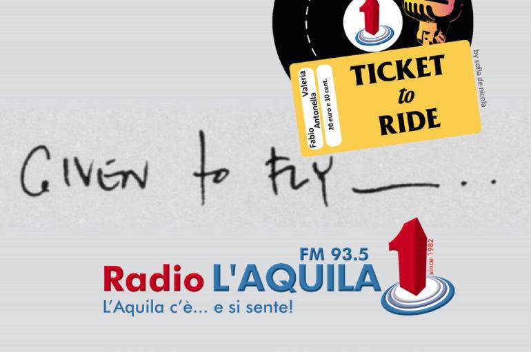 Ticket to Ride, pt.1: viaggio e purezza