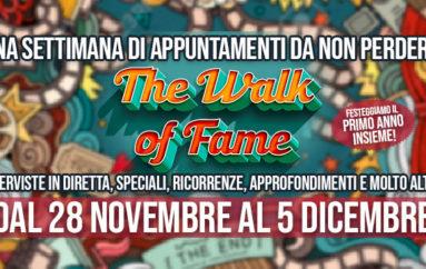 Primo anniversario di The Walk of Fame, arriva il party online